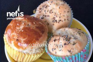 Dereotlu Biberli Muffin Poğaça Tarifi