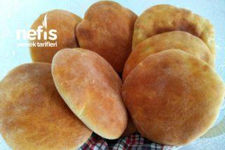 Sadece 10 Dakikada Pişen İçi Balon Gibi Boş Pita (Gobit) Ekmeği (Videolu) Tarifi