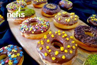 Fırın Donut (Orijinal Hamuru İle) Tarifi