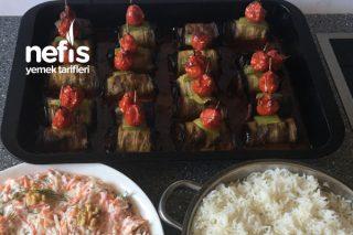 Köfteli Patlıcanlı Rulo Tarifi