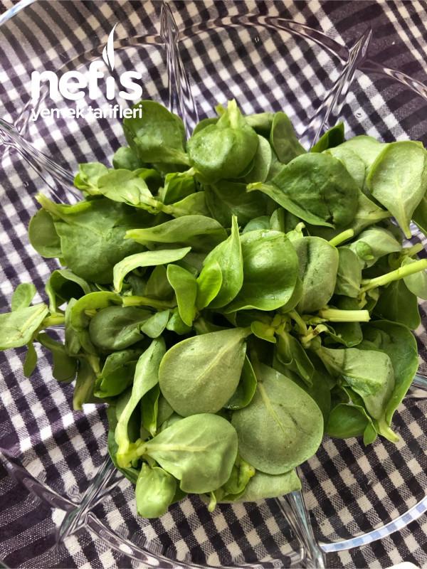 Nohutlu Semiz Otu Salatası