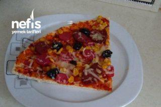 Anne Yapımı Karışık Pizza Tarifi