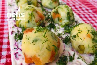 Mor Lahanalı Patates Salatası Tarifi