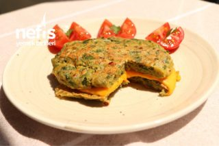 Patatesli Fit Sandviç Omlet Tarifi