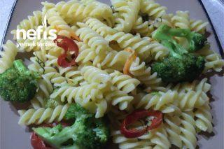 Sebzeli Makarna (Gluten Free) Tarifi
