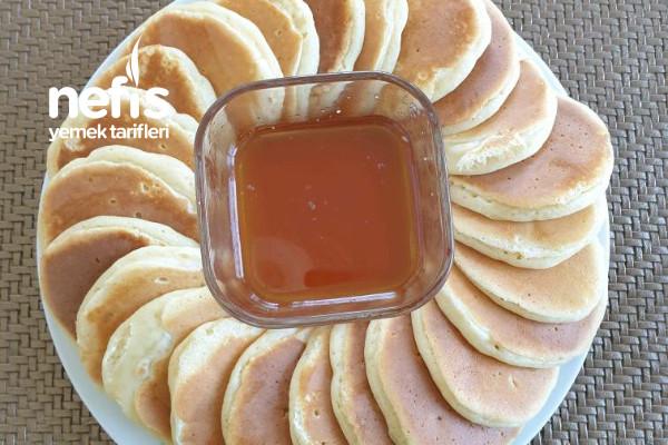 Yağsız Şekersiz Pankek Tarifi