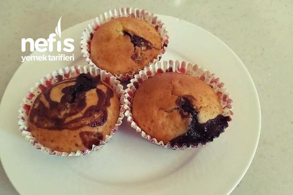 Çikolata Soslu Cup Cake Tarifi