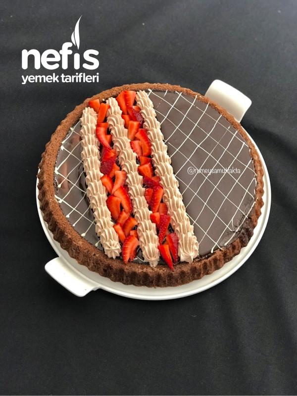 Kahveli Ve Çikolatalj Tart Kek
