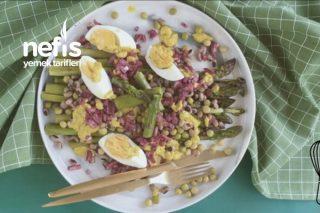 Kuşkonmaz Salatası (Videolu) Tarifi