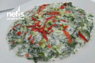 Semizotlu Cacık Salata(Cacığa büyük rakip) Tarifi