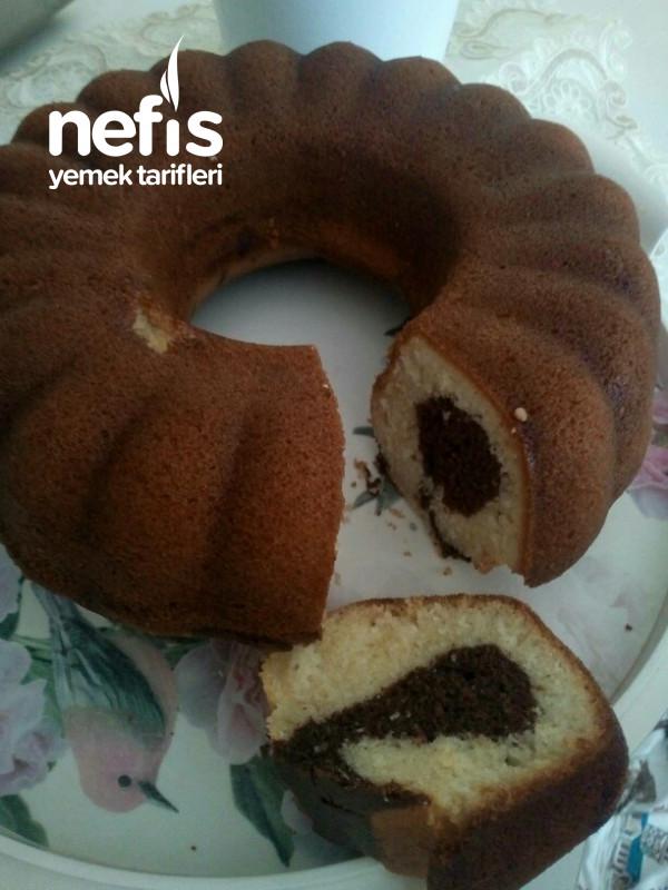 Kakaolu Sade Kek (Yumuşacık)
