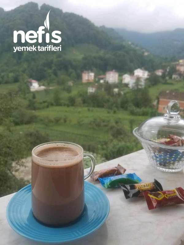Sıcak Çikolata (Pratik Tarif)