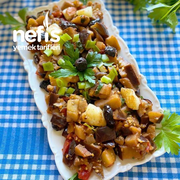 Akdeniz Esintileriyle Patlıcan Yemeği
