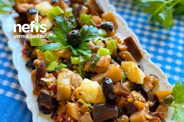 Akdeniz Esintileriyle Patlıcan Yemeği Tarifi