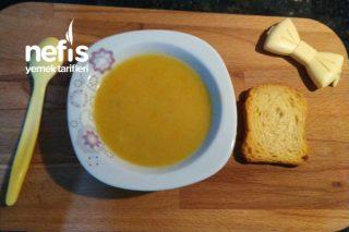 Bebekler İçin Vitaminli Tavuk Sulu, Sebzeli Çorbası Tarifi