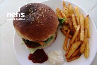 Cheeseburger (Ev Yapımı) Tarifi