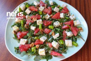 Kahvaltılık Semizotu Salatası Tarifi