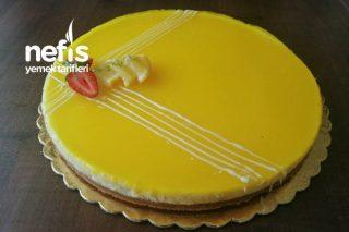 Gıda Boyasız Limonlu Cheesecake Tarifi