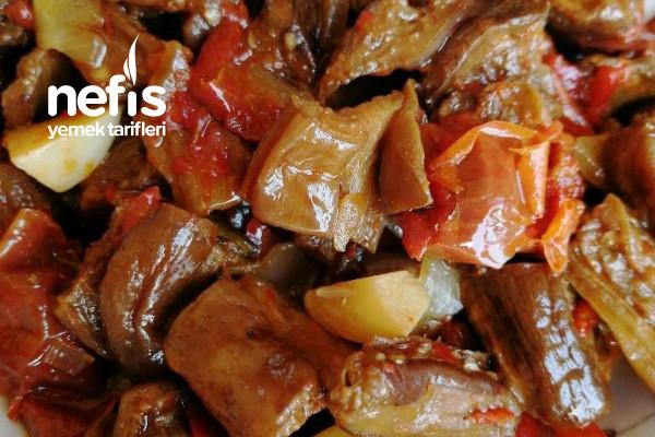 Kuru Patlıcan Yemeği Tarifi
