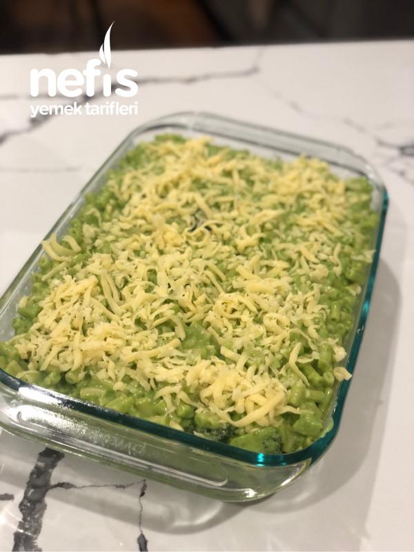 Yeşil Mac 'n' Cheese