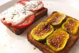 Bruschetta (Ekmek Üstü) (İncirli Domatesli) Tarifi