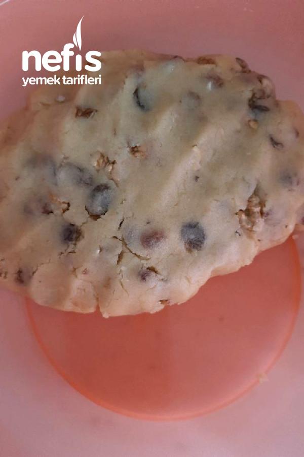 Cevizli Üzümlü Şipşak Kurabiye (Margarinsiz Çok Hafif)