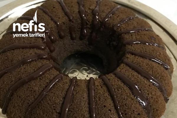 Çikolata Soslu Çaylı Kek Tarifi