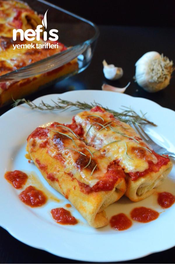 Krep Hamuru İle Cannelloni