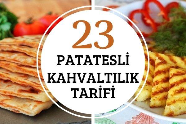 Patatesli Kahvaltılıklar: Doyurucu ve Pratik 23 Tarif Tarifi