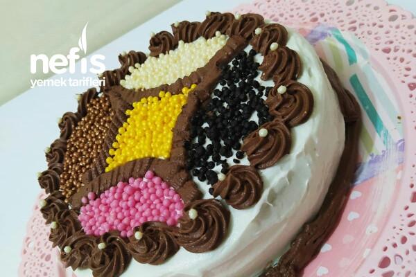 Renkli Yaş Pasta Tarifi