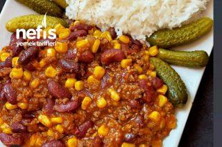 Chili Con Carne (Meksika Fasulyesi) Tarifi
