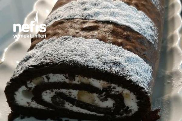 Çikolatalı İsviçre Rulosu Tarifi