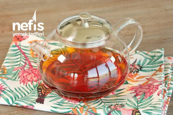 Mükemmel Ev Yapımı Buzlu Çay ( Ice Tea )