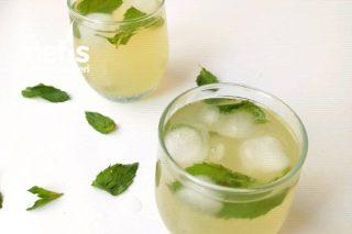 Yeşilçay Ve Limon Aromalı Soğuk Çay (Ice Tea) Tarifi