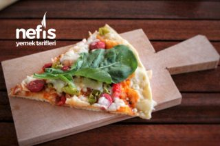 Zeytinyağlı ve Tulum Peynirli Ege Nefis Pizza Tarifi