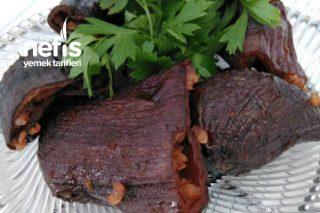 Kuru Patlıcan Dolması (Süs Patlıcan) Tarifi