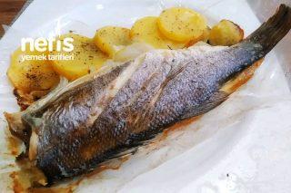 Levrek Buğulama (Fırında Balık) Tarifi