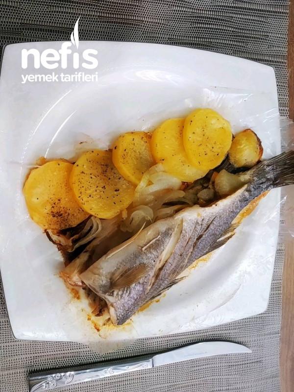 Levrek Buğulama (Fırında Balık)