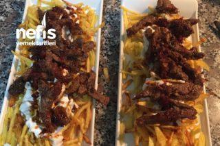 Lokum Etli Çökertme Kebabı Tarifi