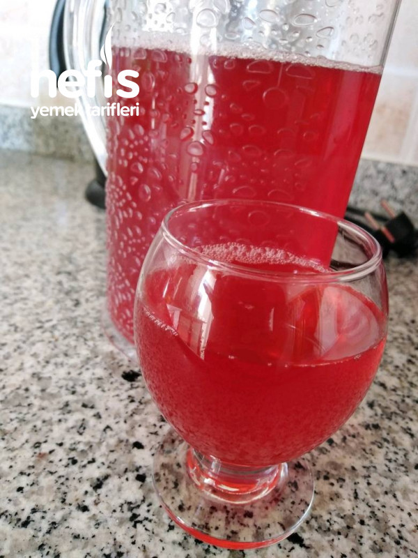 Kırmızı Erik Suyu(Doğal Meyve Suyu)
