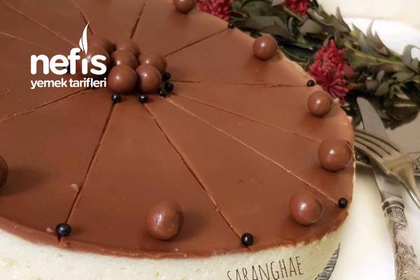 Çikolatalı Yalancı Cheesecake Tarifi