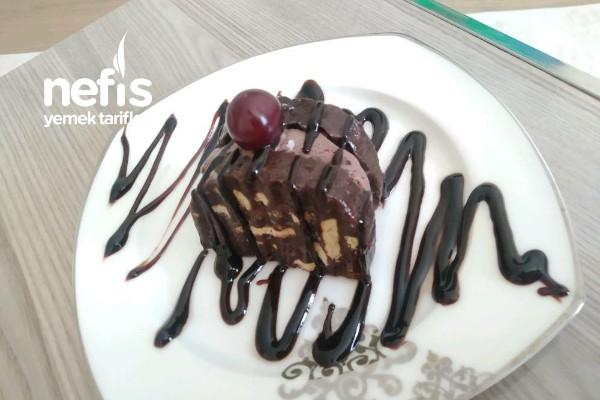 Dondurmalı Kuru Üzümlü Mozaik Pasta(Atma Dönüştür) Tarifi