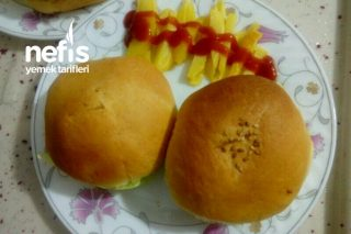 Evde Hamburger (Tavuk Kıymasından) Tarifi