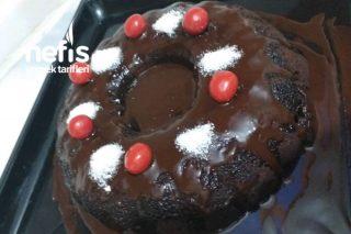Kek Yatağında Çikolata Tarifi