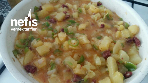 Sucuklu Kahvaltılık Patates