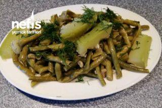 Ege Usulü Taze Börülce Salatası (Yağlı Tuzlu) Tarifi
