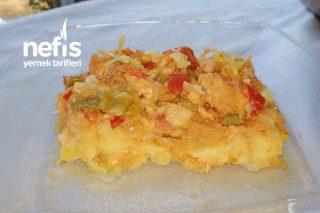 Patates Püreli Fırında Tavuk Sote Tarifi