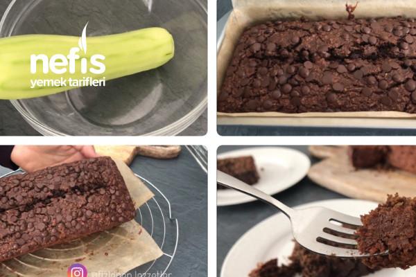 icinde kabak olan  en dusuk kalorili cikolatali  kek videolu