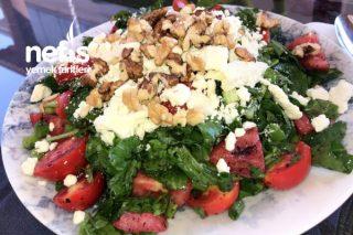 Sağlıklı Roka Salatası Tarifi
