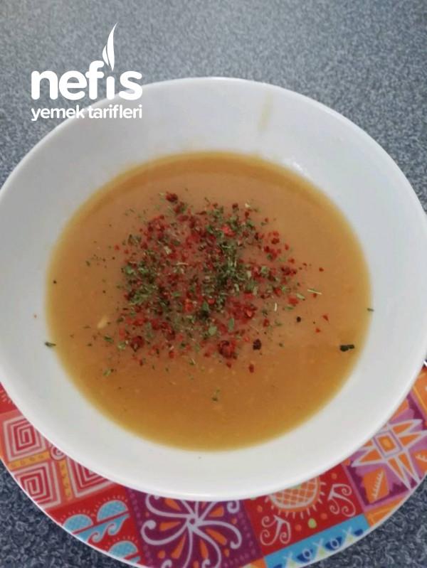 Tarhana Çorbası (Taze Börülce Haşlama Suyuna)